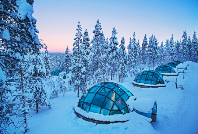 Kakslauttanen glass igloo small