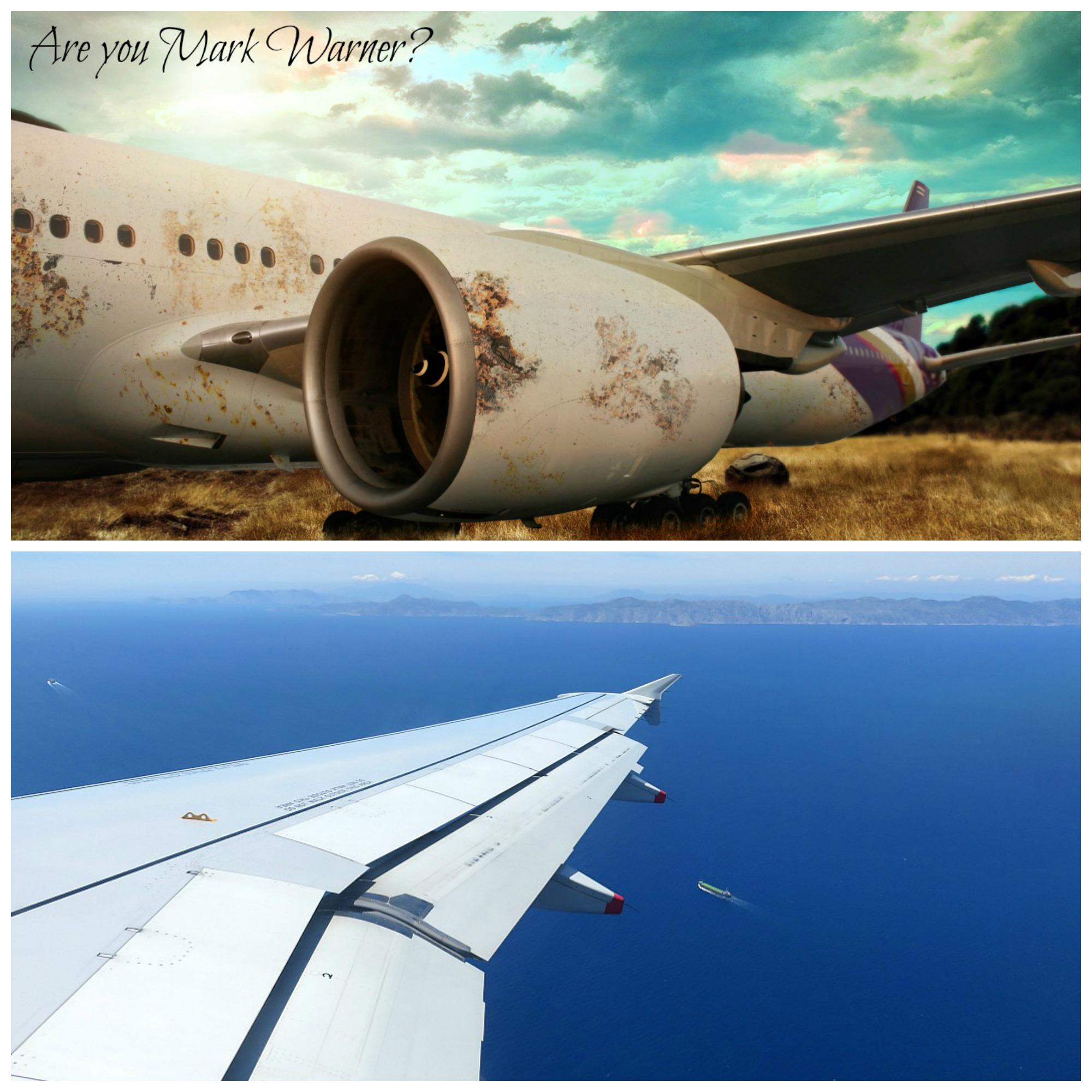 POD Travels - flight MW collage
